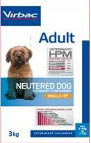 Adult dog Neutered Small & Toy