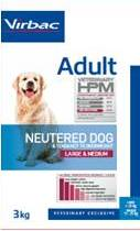 Adult dog Neutered Large & Medium