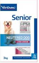 Senior dog Neutered Large & Medium