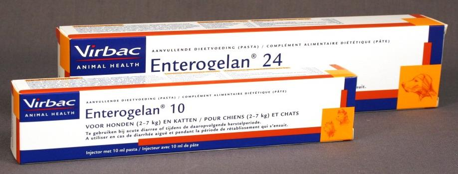 Enterogelan 10 ml et 24 ml