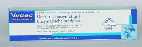 Dentifrice enzymatique volaille